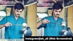 Arshad Khan (18 tahun), penjual teh di Islamabad, kini mendapatkan kontrak sebagai model untuk pakaian pria (foto: dok).
