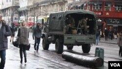 Para supir bis Belgia takut pergi ke ibukota Brussels karena situasi keamanan dan menuntut upah lebih tinggi (foto: dok).