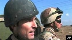 伍德罗夫在伊拉克战地采访