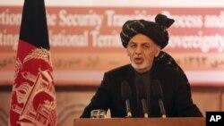افغان صدر په خپلو خبرو کې وئيلي ، چې د افغانستان حکومت به گډو هڅو او صلاح مشورو ته دوام ورکوي ،