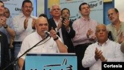 Jesús Torrealba, secretario de la Mesa de la Unidad, en una foto tomada en 2014.