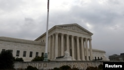 Здание Верховного суда США в Вашингтон (архивное фото)