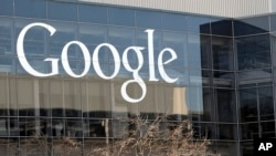 FILE - This Jan. 3, 2013, file photo shows Google's headquarters in Mountain View, Calif.
