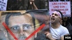 Las matanzas de civiles en Siria han causado indignación mundial.