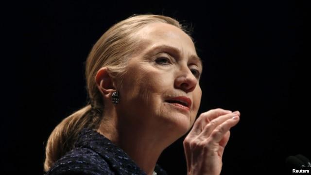 Ngoại trưởng Hoa Kỳ Hillary Clinton.