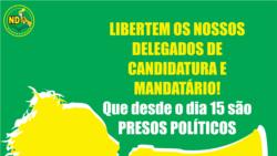 Quitéria Guirengane – Mandatária, Nova Democracia