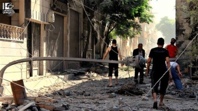 Fierce Fighting Batters Syria's Homs