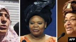 Ba người phụ nữ được nhận giải năm nay gồm Tổng thống Liberia Ellen Johnson Sirleaf, nhà hoạt động Liberia Leymah Gbowee và nhà hoạt động Yemen Tawakkul Karman.
