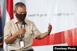 Dirjen Pencegahan dan Pengendalian Penyakit Kementerian Kesehatan Achmad Yurianto. (Foto: BNPB)