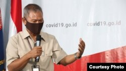 Juru bicara penanganan Covid-19 Indonesia, Dr Achmad Yurianto. (Foto: BNPB)