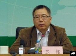 中国气候谈判首席代表苏伟
