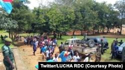 Marche de la LUCHA à Beni, Nord-Kivu, RDC, 21 mai 2020. (Twitter/LUCHA RDC)