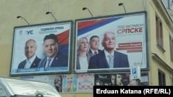 Na predizbornim plakatima se ne pominje ekonomija, Banjaluka, septembar 2018.