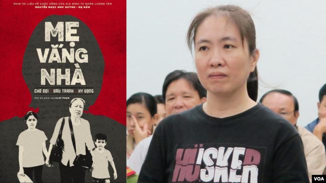 VOICE thực hiện phim tài liệu 'Mẹ vắng nhà' phát họa chân dung nhà hoạt động Mẹ Nấm tức Nguyễn Ngọc Như Quỳnh.