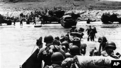 Cuộc đổ bộ của quân đội khối Đồng minh vào các bãi biển vùng Normandie, ngày 6/6/1944.