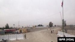 چارواکي وايي،د ډنډپټان ولسوالۍ ته څیرمه ډیورنډ کرښې اوږدو کې د چهارشنبې په ورځ پاکستان یو شمیر تاسیسات افغانستان ته سپارلي