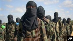 Боевики сомалийской исламистской группировки «Аль-Шабаб» (архивное фото)