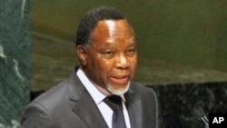 Vice-presidente da Africa do Sul, Kgalema Motlanthe