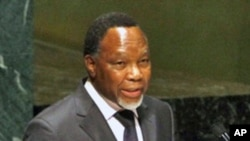 Deputy President of South Africa Kgalema Petrus Motlanthe, June 8, 2011