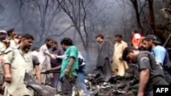 巴基斯坦坠机现场