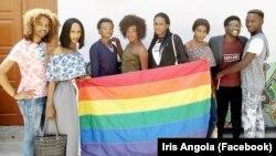 Les membres de l'association Iris Angola, à Kampala, Angola. (Facebook/Iris Angola)