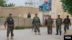 Pangkalan militer di Balkh, Afghanistan. (Foto: dok).