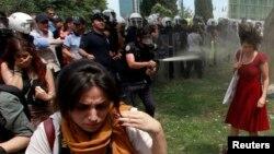 Sukob turske policije i demonstranata