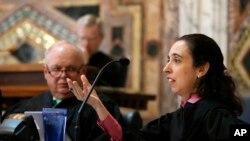La jueza Michelle Friedland, fue nombrada por el presidente Barack Obama a la Corte del Noveno Circuito de Apelaciones en California,