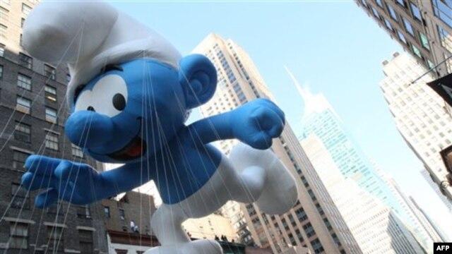 Nhân vật bóng bay khổng lồ mới: Papa Smurf