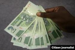 Zimbabwean bond notes ...