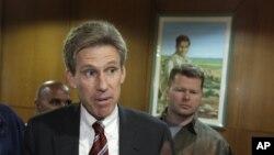 美國駐利比亞大使克里斯托弗‧史蒂文斯(資料照片)