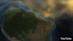 Saharan Dust to Amazon rainforest
