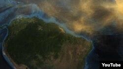 Satelitski snimci NASA-e potvrdili su u tri dimenzije koliko prašine obavi putovanje preko Atlantika od Sahare do amazonskih prašuma.