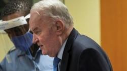 လူမ်ိဳးတံုးသတ္ျဖတ္မႈ တရားခံ Bosnian Serb စစ္ေခါင္းေဆာင္ Mladic အယူခံ ကုလတရားရံုး ပယ္ခ်