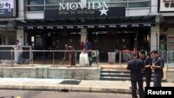 星期二,马来西亚首都吉隆坡郊外一家咖啡店发生手榴弹爆炸。