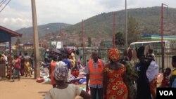 Quelqes vendeurs à Kigali