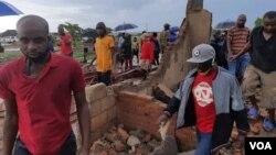 Harare demolitions