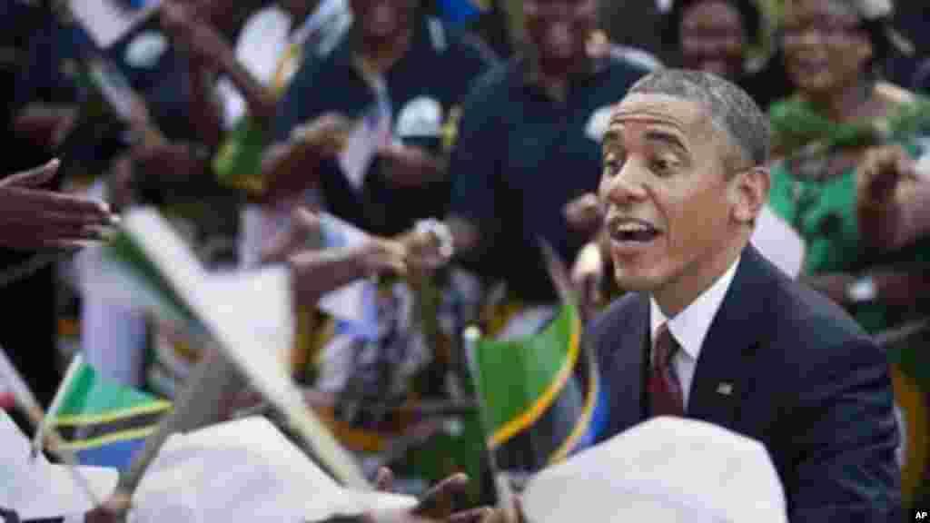 Rais Barack Obama alipozuru Dar es Salaam, Tanzania 2013