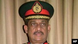 سری لنکا: صدر سے سابق آرمی چیف کی سزا کی توثیق