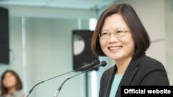 台湾民进党主席蔡英文 (民主进步党官方网站)
