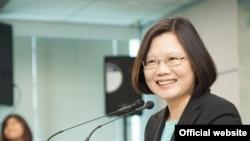 台灣民進黨主席蔡英文 (民進黨官方網站)