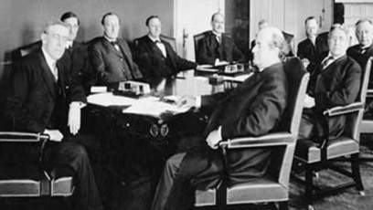 President wilson urges support for ideal of league of nations essay