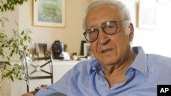 Utusan khusus baru PBB untuk Suriah, Lakhdar Brahimi dalam wawancara di Paris, Minggu (19/8).