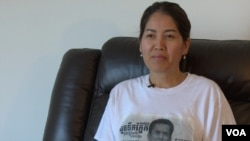 Ly Phallin, 44 years old, is a Cambodian American citizen in Lowell, Massachusetts, on August 3, 2016. (VOA Khmer)