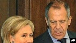 克林顿和拉夫罗夫周二在莫斯科