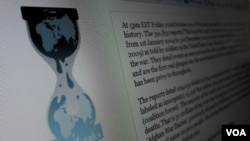 Situs WikiLeaks.org merilis arsip lengkap 250 ribu lebih kawat Deplu Amerika, yang banyak di antaranya tidak disensor (foto: dok.).