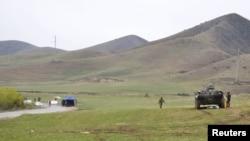 Qirg'iziston va O'zbekiston chegarasidagi bahsli hududlardan biri