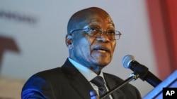 Le président sud-africain Jacob Zuma, 4 avril 2017.