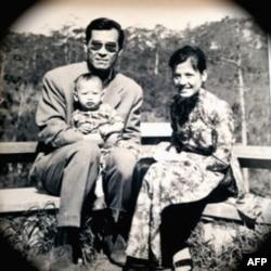 Hoàng Vĩnh Lộc, cùng vợ con