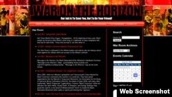 Интернет-сайт War is on the Horizon, который ведет Айо Кимати.